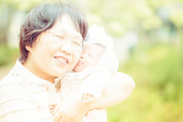 孫とおばあちゃん