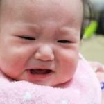 涙が出ていない赤ちゃん