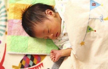 すやすや眠る可愛い赤ちゃん