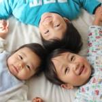 男の子の3人兄弟