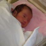 産まれたばかりの赤ちゃん