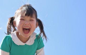 笑顔が可愛い女の子