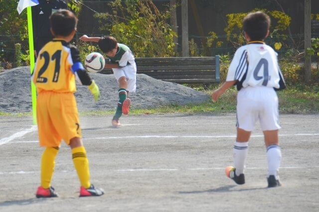子どものサッカー大会
