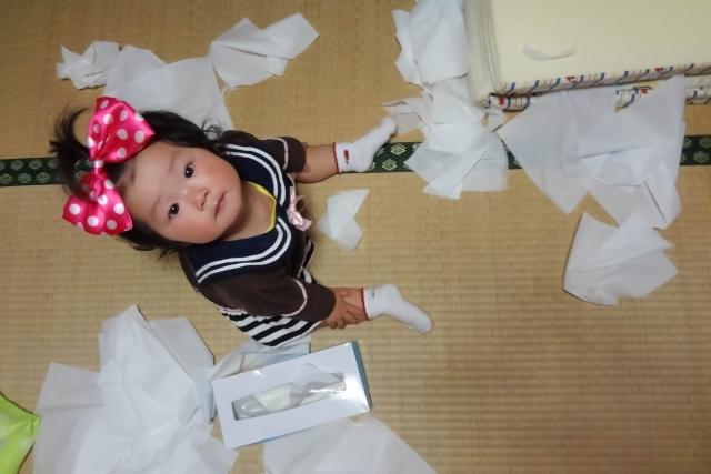 生後10か月の赤ちゃん